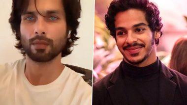 Shahid Kapoor's Blue-Eyed 'Shabba Khair' Post Leaves Ishaan Khatter Hypnotised (Watch Video)