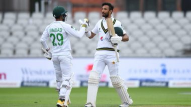 Pakistan vs England Stat Highlights, 1st Test 2020 Day 2: Shan Masood, Bowlers Shine As Visitors Have Upper Hand Over Hosts