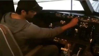 Ankita Lokhande Slams Rhea Chakraborty's Claim That Sushant Singh Rajput Was Claustrophobic With a Flight Simulation Video