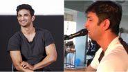 This Video Of Sushant Singh Rajput Singing Shree Krishna Govind Hare Murari Is Going Viral