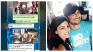 Sushant Singh Rajput's Sister Shares Screenshot of Her May 22 Chat With Late Actor