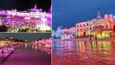 Ram Mandir Bhumi Pujan Today, Ayodhya Gears Up For Witnessing History at Hands of PM Narendra Modi