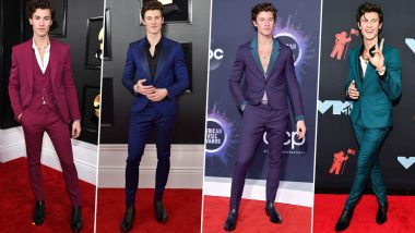 Shawn Mendes Birthday Special: His Dapper and Colourful Red Carpet Outings Exude all the Metrosexual Vibes (View Pics)