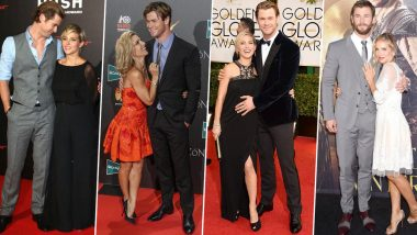 Chris Hemsworth Birthday Special: Let's Go Through His Adorable Red Carpet Moments with Wife Elsa Pataky (View Pics)
