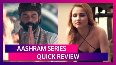 Aashram Review: This Web-Series Starring Bobby Deol Is A Mixed Bag!
