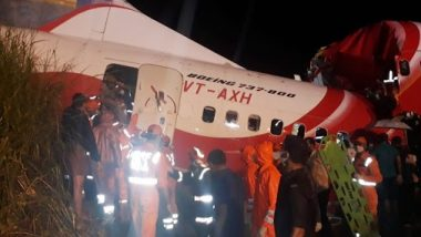 Air India Express Plane Crash Update: 18 Dead Including 2 Pilots, 2 Special Relief Flights Arranged From Delhi and Mumbai for Humanitarian Assistance