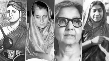 Independence Day 2020: Rani Lakshmibai, Indira Gandhi, Aruna Asaf Ali - 5 Women Freedom Fighters of India That You Must Know About
