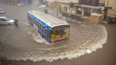 Mumbai Rains: City Continues to Witness Heavy Rainfall, Vihar Lake That Supplies Water to Mumbaikars Overflows; See Pics