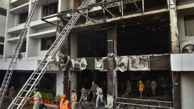 Andhra Pradesh Hotel Fire: Death Toll at Hotel Converted into COVID-19 Facility in Vijayawada Rises to 10; What We Know So Far