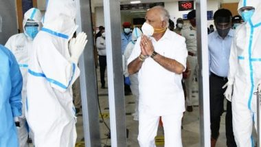 BS Yediyurappa, Karnataka CM, Discharged From Manipal Hospitals in Bengaluru After Recovering From COVID-19