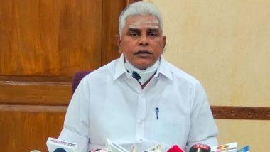 R Kamalakannan, Puducherry Agriculture Minister, Tests Positive for Coronavirus