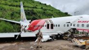 Air India Express Plane Crash in Kerala: Govt Announces Relief of Rs 10 Lakh Each to Kin of Deceased, Rs 2 Lakh for Seriously Injured