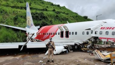 Air India Express Plane Crash in Kerala: Govt Announces Relief of Rs 10 Lakh Each to Kin of Deceased