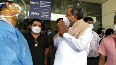 Siddaramaiah Recovers From COVID-19, Discharged From Manipal Hospital In Bengaluru