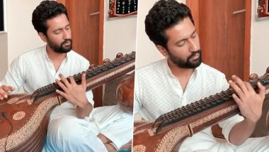 Vicky Kaushal Play The Veena On a Raazi Song To Celebrate The 74th Independence Day Of India