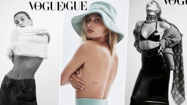 Hailey Bieber is all Things Sexy, Stunning and Saucy in Her New Photoshoot for Vogue India (View Pics)
