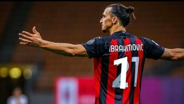 AC Milan Hilariously Trolls Inter Milan After a 2-1 Win as Zlatan Ibrahimovic Scores a Brace, Says 'Inter You've Been Zlataned'
