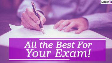 All the Best Students! On NEET 2020 Exam Day, Send Motivational Quotes, Messages, GIFs and Images to Encourage Aspirants to Perform Well in the NTA Medical Entrance Examination