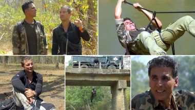 Into the Wild With Bear Grylls: Akshay Kumar Shares a Preview of his Adventures with the Host and it's Hella Exciting (Watch Video)