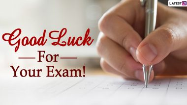 JEE Main 2020 Exam: Good Luck Wishes, Positive Messages, Motivational Quotes and Images to Send to NTA Candidates Appearing in the Entrance Examination Amid Pandemic