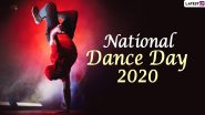 National Dance Day 2020 Images and HD Wallpapers for Free Download Online: WhatsApp Stickers, Facebook Messages, GIFs and Greetings to Celebrate the Day