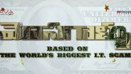 Mosagallu: Venkatesh Daggubati Launches the Title Motion Poster of Vishnu Manchu and Kajal Aggarwal's Upcoming Crime Thriller (Watch Video)