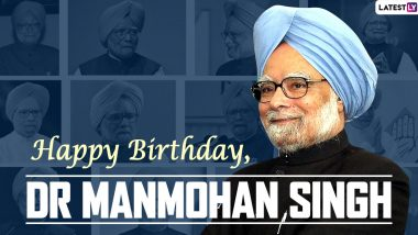Dr Manmohan Singh Birthday Wishes & HD Images: Wish Former Indian PM With Greetings, GIFs, Photos and Facebook Messages As Former Indian PM Turns 88