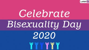 Celebrate Bisexuality Day 2020 Date, Theme, History and Significance: What Is Bi Visibility Day? Know Everything About the Day Dedicated to the Bisexual Community
