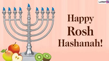 Rosh Hashanah 2020 Wishes and HD Images: WhatsApp Stickers, Facebook Messages and GIFs to Share Heartfelt Greetings on Jewish New Year