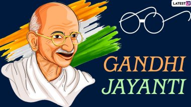 Gandhi Jayanti 2020 Virtual Celebration Ideas: From Reciting Poems on Bapu to Creating DIY Items of His Belongings, Here's How Kids Can be Encouraged to Observe This National Festival of India