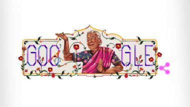 Zohra Sehgal With Special 'Zohra Segal' Google Doodle: Search Engine Giant Celebrates The Vast Work of Iconic Indian Dancer and Actress