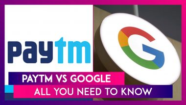 Paytm Calls Out Google For Arm Twisting, Says It Has Different Rules For Itself; Google Says Gambling & Betting Violate Its Play Store Policies Not Cashbacks & Vouchers