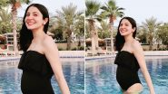 Anushka Sharma Flaunts Her Baby Bump in a Cute Monokini, Shares Heartfelt Note On World Gratitude Day (View Pic)