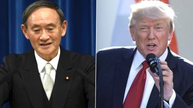 Yoshihide Suga, Donald Trump Agree to Further Strengthen Japan-US Security Alliance Over First Phone Call
