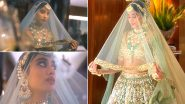 Janhvi Kapoor Looks Every Bit Of Beautiful In a Bridal Avatar For Manish Malhotra's Latest Collection (View Pics)