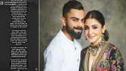 IPL 2020: Anushka Sharma Slams Sunil Gavaskar Who Allegedly Made Sexist Remarks On Virat Kohli And Her, Asks 'Why Accuse A Wife For Her Husband's Game?'