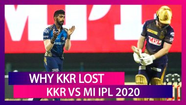 Kolkata vs Mumbai IPL 2020: 3 Reasons Why Kolkata Lost To Mumbai