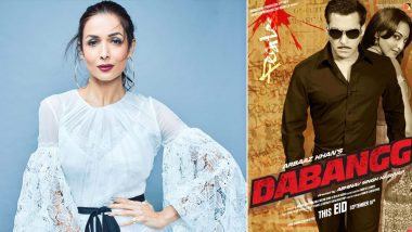 10 Years of Dabangg: Malaika Arora aka 'Munni' Celebrates a Decade of Salman Khan-Sonakshi Sinha Starrer Blockbuster Film!