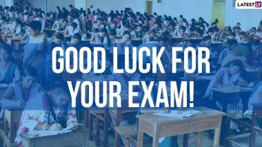 NEET UG 2020: All the Best Wishes, Positive Messages, Good Luck Images and Motivational Quotes to Send to NTA Medical Aspirants Appearing in the Entrance Exam During Pandemic