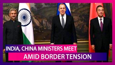 India, China Foreign Ministers Meet For Key Talks In Moscow, Russia Amid Tension On Border
