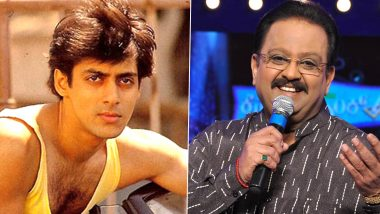 RIP SP Balasubrahmanyam: 8 Melodious Songs That Are Proof of Why the Late Singer Was the Perfect Playback Voice for Salman Khan! (Watch Videos)