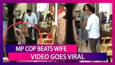 Purushottam Sharma, Madhya Pradesh Cop Beats Wife, Justifies The Act As Video Goes Viral; State Government Takes Action But No Arrest Made Yet