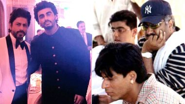 18 Years of Shakti: Boney Kapoor Shares Unseen Pic of Arjun Kapoor and Shah Rukh Khan from the Sets of Karisma Kapoor, Sanjay Kapoor Starrer