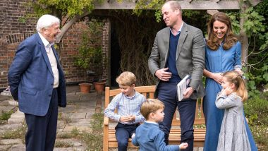 Prince George Receives a Prehistoric Gift from Sir David Attenborough (View Post)