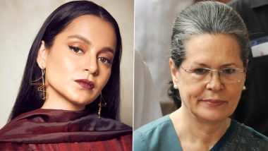 Kangana Ranaut Office Demolished by BMC: Actress Slams Congress President Sonia Gandhi, Says 'History Will Judge Your Silence and Indifference' (Read Tweets)