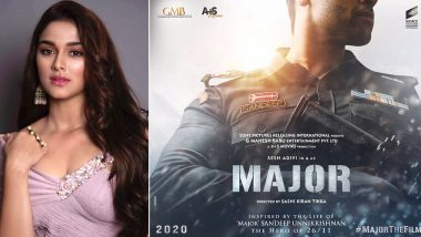 Major: Saiee Manjrekar To Play A Pivotal Role In Adivi Sesh Starrer Based On Major Sandeep Unnikrishnan