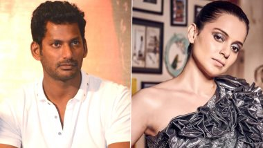 Vishal Compares Kangana Ranaut to Bhagat Singh and Twitterati Question the Basis of his Comparison (View Tweets)