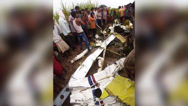 Uttar Pradesh Chopper Crash Update: Trainee Pilot Killed in Crash in Azamgarh