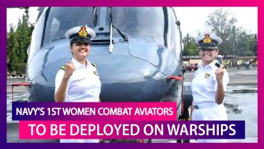 Sub Lieutenant Kumudini Tyagi & Sub Lieutenant Riti Singh, Create History, Become First Women Combat Aviators To Be Deployed On Warships; Know More About Them