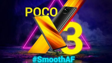 Poco X3 Smartphone Launching Today in India at 12 Noon, Watch LIVE Streaming of Poco's Launch Event